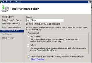 Windows-server-Backup-Specify-Remote-Folder