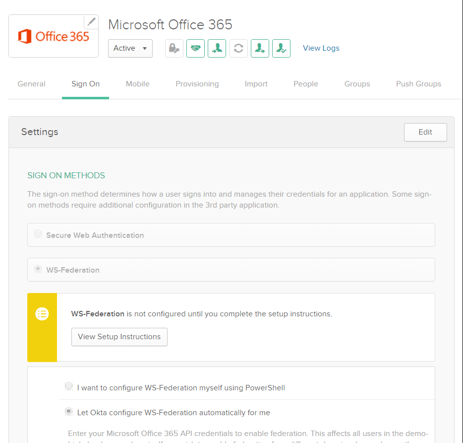 Office 365, Okta, Office 2013/2016 and Modern Authentication